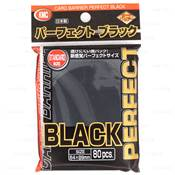 KMC - Standard - Perfect Size Sleeves Black (x80)