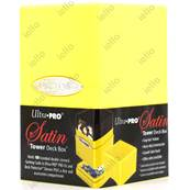 Ultra Pro - Deck Box - Satin Tower - Bright Yellow