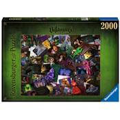 RAVENSBURGER - Puzzle - 2000p : Méchants Disney Villainous
