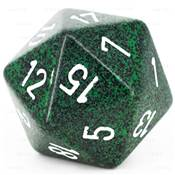 CHESSEX - D20 JUMBO 34 mm - GRANITE Recon --NEW--