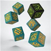 QWORKSHOP - Hordes Trollbloods Dice Set (x6)