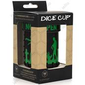 QWORKSHOP - Dice Cups - Zombie Black