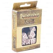 QWORKSHOP - Pathfinder Dice Set - Return of The Runelords (x7) NEW