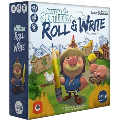 IELLO - Imperial Settlers : Roll & Write (FR)