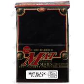 KMC - Standard - MAT 'Black' Sleeves (x80)
