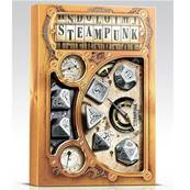 QWORKSHOP - Metal Steampunk Dice Set (x7)