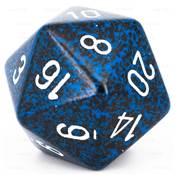 CHESSEX - D20 JUMBO 34 mm - GRANITE Stealth --NEW--
