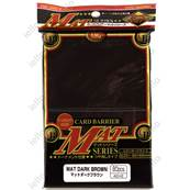 KMC - Standard - MAT 'Brown' Sleeves (x80)