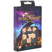 QWORKSHOP - Call of Cthulhu Dice Set - Masks of Nyarlathotep (x7) NEW