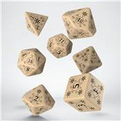 QWORKSHOP - Pathfinder Dice Set - Rise of Runelords (x7)