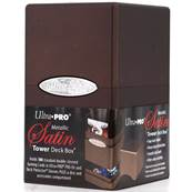 Ultra Pro - Deck Box - Satin Tower - Metallic Dark Chocolate
