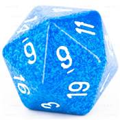 CHESSEX - D20 JUMBO 34 mm - GRANITE Water --NEW--