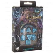 QWORKSHOP - Call of Cthulhu Dice Set - The Outer Gods Azathoth (x7) N