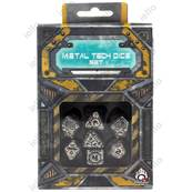 QWORKSHOP - Metal Tech Dice Set (x7)