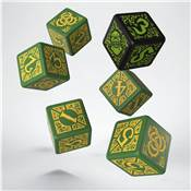QWORKSHOP - Hordes Circle Orboros Dice Set (x6)