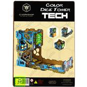 QWORKSHOP - Color Tech Dice Tower
