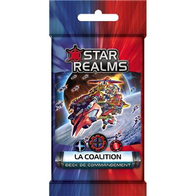 IELLO - Star Realms - Command Deck : La Coalition (Display de 6)
