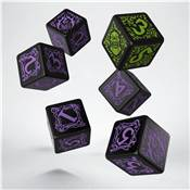QWORKSHOP - Hordes Legion of Everblight Dice Set (x6)