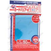 KMC - Mini - SUPER 'Metallic Blue' Sleeves (x50)