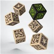 QWORKSHOP - Hordes Minions Dice Set (x6)