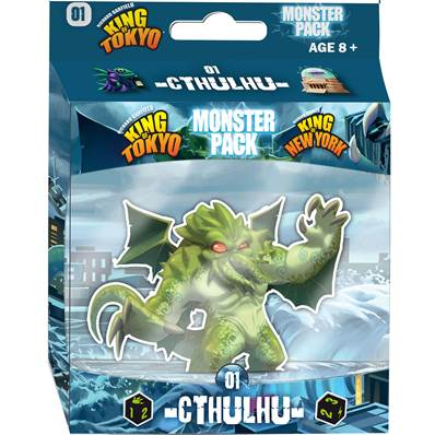 IELLO - King of Tokyo - Monster Pack : Cthulhu (FR)