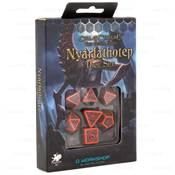 QWORKSHOP - Call of Cthulhu Dice Set -The Outer Gods Nyarlathotep(x7)