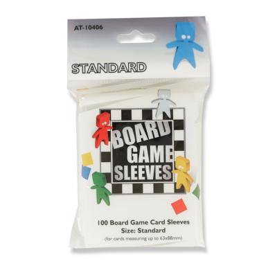 Board Game Sleeves - Standard - 63x88mm (x100)