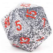 CHESSEX - D20 JUMBO 34 mm - GRANITE Granite --NEW--