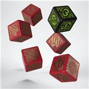 QWORKSHOP - Hordes Skorne Dice Set (x6)